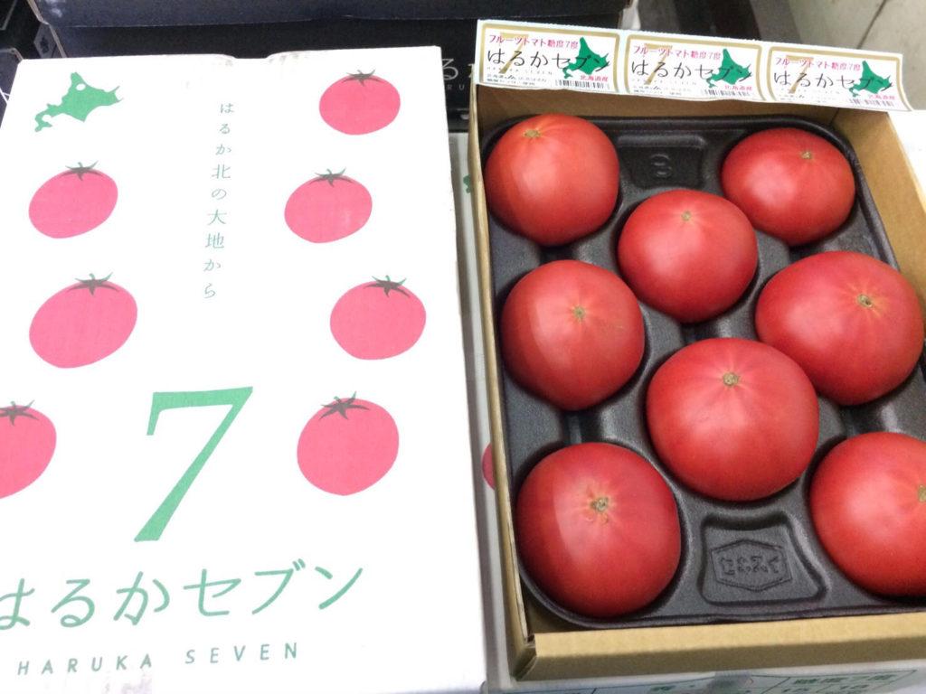本日の目玉お買得商品!!ー北海道産 フルーツトマトー