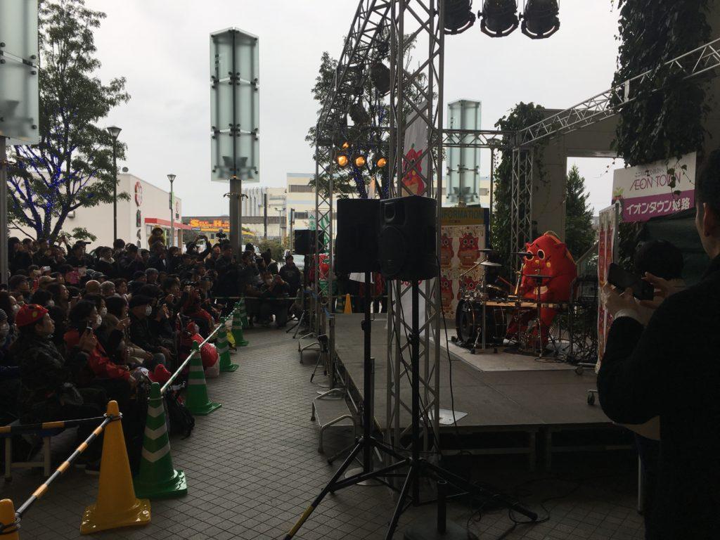 にゃんごすたーオリジナルパッケージ商品販売イベント@イオンタウン姫路